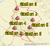 Fire Stations in Salinas