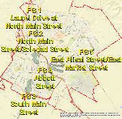 Focused Growth Areas in Salinas