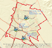 Law Enforcement Facilities in and around Salinas
