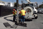 City Workers performing Storm Drain Maintenance