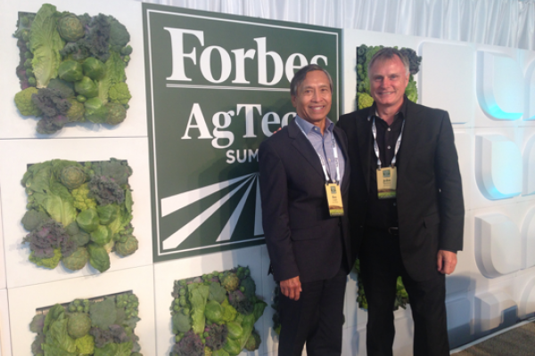 Ray Corpuz, City Manager at Forbes AgTech Summit