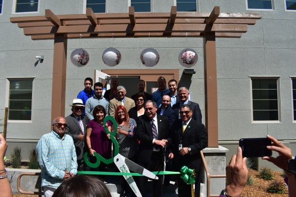 Hikari apartments ribbon cutting ceremony