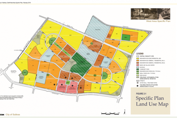 West Area Specific Plan Land Use