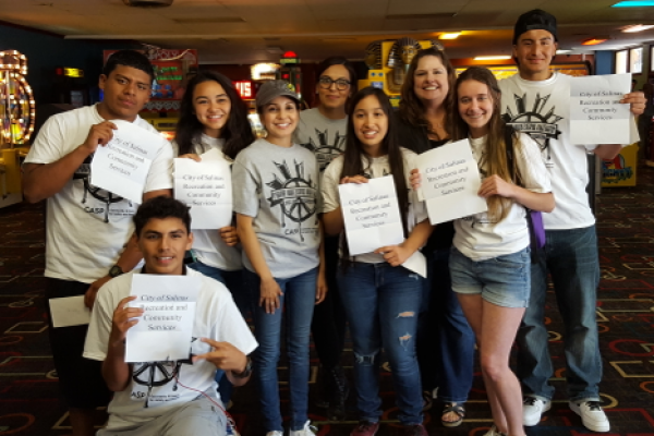Salinas teens participating in Youth Leadership Academy