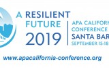 American Planning Association CA Conference 2019 logo