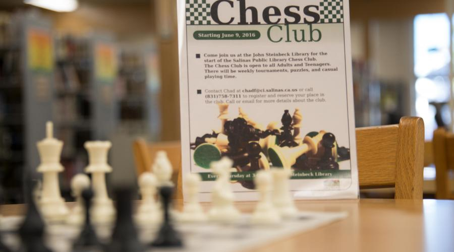 Chess Club, Salinas Public Library
