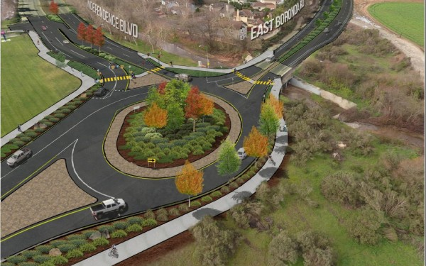 Boronda Road Widening Project - Independence Boulevard Round Project