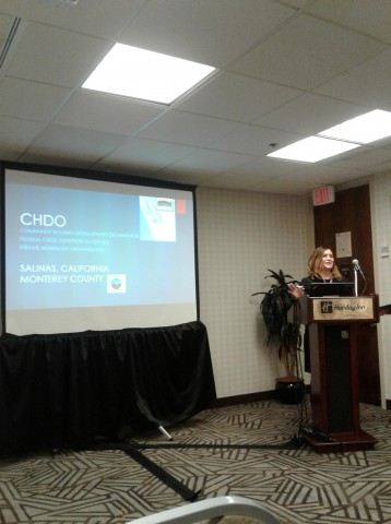 Staff presents at NCDA conference