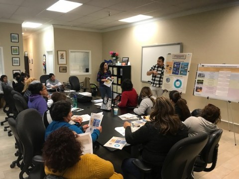 Planning staff presents Consolidated Plan information