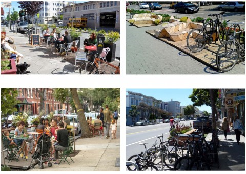 Parklet examples
