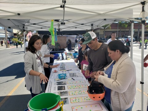 Community Development Pop-up Activity at El Grito