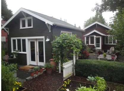 Accessory Dwelling Unit (ADU) built in Santa Cruz