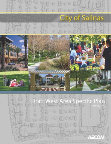 Cover of Draft West Area Specific Plan