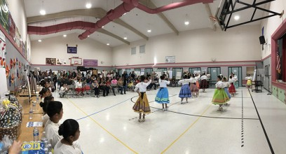 Folklorico dancers at the AVP Celebration
