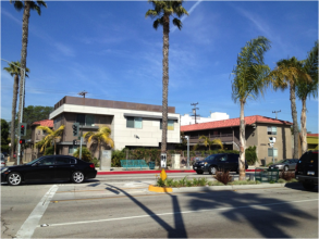 Upward Bound Homeless Shelter in Los Angeles- an example of a best practice homeless shelter.