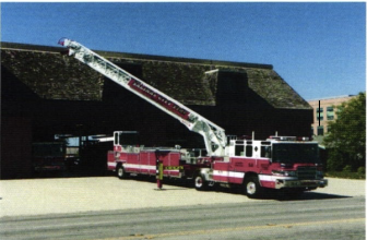New Ladder Fire Truck