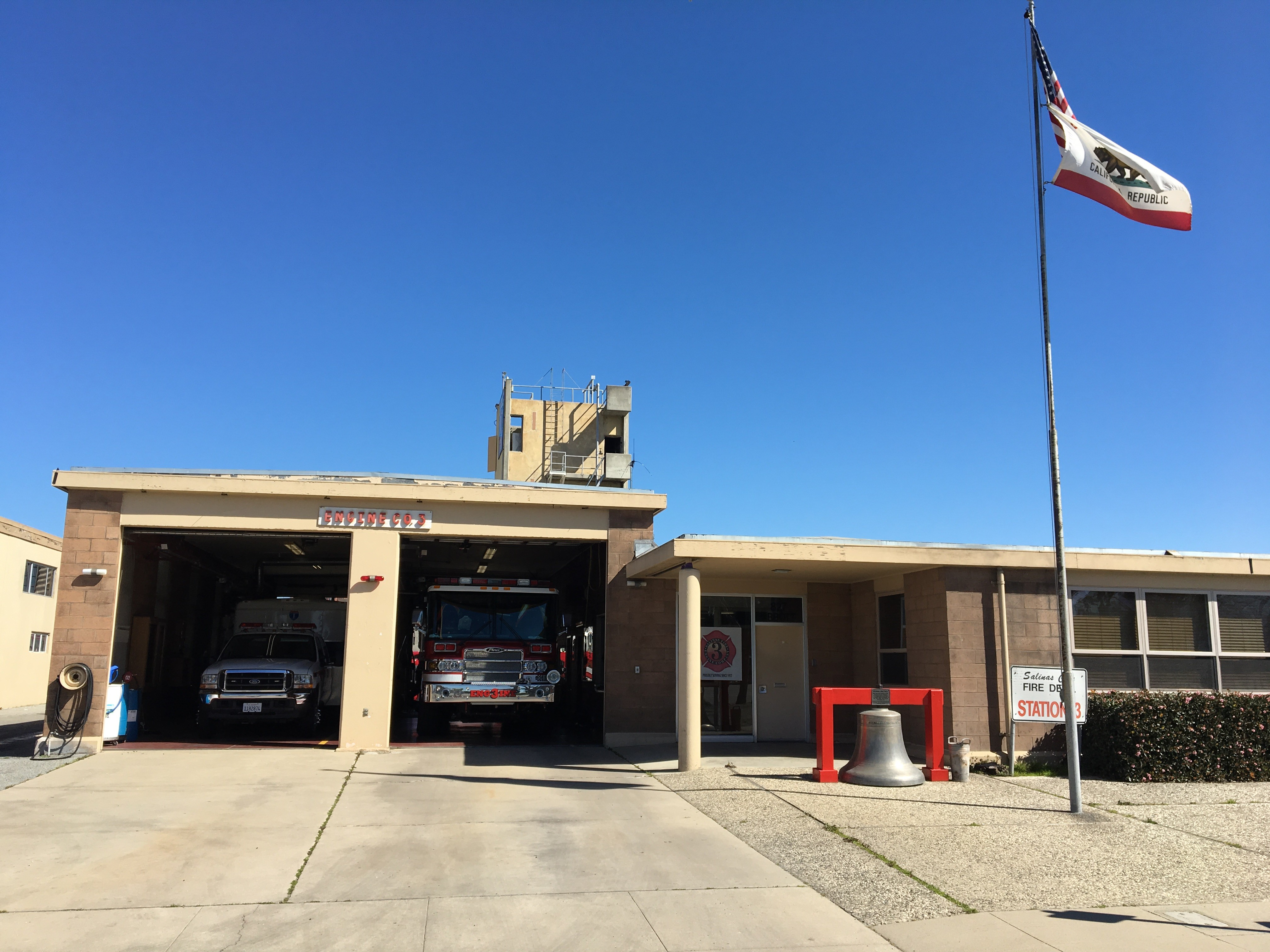 Fire Station 3 City Of Salinas